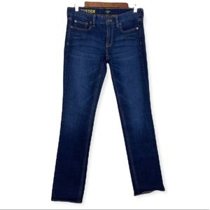 J. Crew Matchstick Dark Washed Jeans Size 28